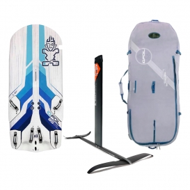 IQFOIL PACK IQFOIL JUNIOR 85 STARLITE CARBONE + BOARD BAG + IQFOIL ALUMINIUM JUNIOR 2021