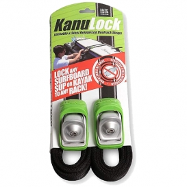 KANULOCK LOCKABLE & STEEL REINFORCED ROOFRACK STRAPS 2021