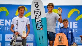 1st PLACE FOR MATHEO AT THE ENGIE KITE TOUR 2021 - 1st STAGE