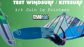Photo TEST Windsurf et Kitesurf 2018 au Pointeau 2/3 Juin